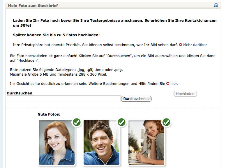 Fake profile partnervermittlung